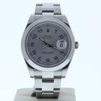 Rolex ROLEX MODEL 116300 41MM DATEJUST II WATCH SILVER ARABIC DIAL 2000 Datejust II 41mm pre-owned United States of America, Florida, Miami
