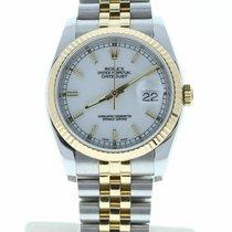 Rolex Datejust 116233 Très bon Or jaune 36mm Remontage automatique