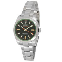 Rolex 116400GV Steel Milgauss 40mm pre-owned United States of America, California, Los Angeles