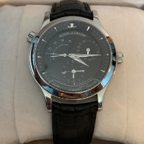 Jaeger-LeCoultre Master Geographic Steel 38mm Black No numerals United States of America, Michigan, Livonia