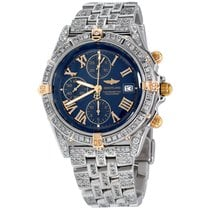 Breitling Windrider Steel 43mm Blue Roman numerals United States of America, New York, NEW YORK CITY