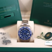 Rolex Submariner Date White gold 40mm Blue No numerals United States of America, California, Beverly Hills
