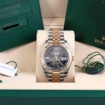 Rolex Datejust Gold/Steel 41mm Grey No numerals United States of America, California, Beverly Hills