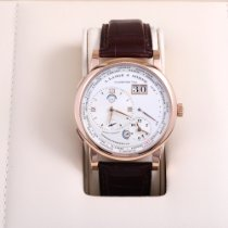 A. Lange & Söhne Lange 1 Rose gold 41.9mm Silver Roman numerals United States of America, California, Beverly Hills