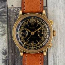 Rolex Chronograph Acél 35mm Fekete