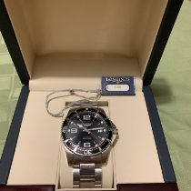 Longines HydroConquest Steel 41mm Black United States of America, New Jersey, Linden