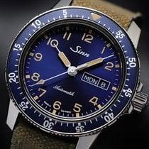 Sinn 104 Steel 41mm Blue Arabic numerals