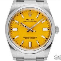 Rolex Oyster Perpetual 36 Stahl 36mm Gelb Deutschland, Stuttgart
