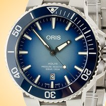 Oris Aquis Date Steel 43.5mm Blue Arabic numerals United States of America, Illinois, Northfield