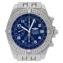 Breitling Blackbird pre-owned 40mm Blue Chronograph Date Steel