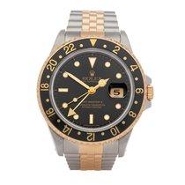 Rolex GMT-Master II Gold/Steel 40mm Black United Kingdom, Bishop's Stortford