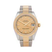 Rolex Lady-Datejust Gold/Steel 31mm White Roman numerals United Kingdom, Bishop's Stortford