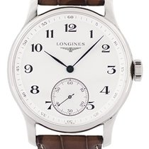 Longines L2.640.4.78.3 Steel Master Collection 48mm pre-owned