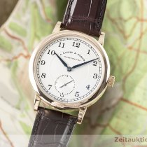 A. Lange & Söhne Red gold Manual winding Silver 40mm pre-owned 1815