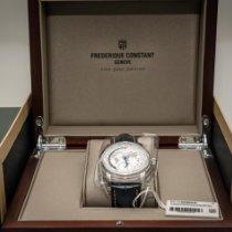 Frederique Constant Manufacture Worldtimer Acier 42mm Argent Sans chiffres France, Vitry sur Seine