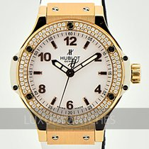 Hublot Oro rojo Cuarzo Blanco Arábigos 38mm usados Big Bang 38 mm