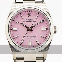 Rolex Oyster Perpetual 36 Stål 36mm Rosa Inga siffror Sverige, Stockholm