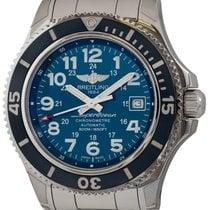 Breitling Superocean II 42 Acero 42mm Azul Arábigos