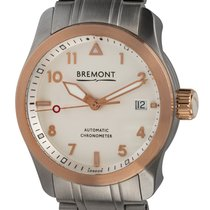 Bremont Steel 37mm Automatic SOLO37-R9-BR pre-owned United States of America, Texas, Austin
