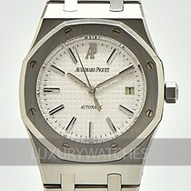 Audemars Piguet Royal Oak Selfwinding Acero 39mm Blanco Sin cifras