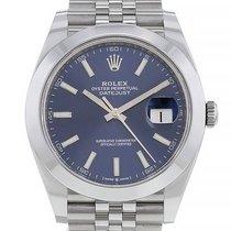 Rolex Datejust Acier 41mm Bleu Arabes France, Paris