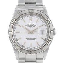 Rolex Datejust Turn-O-Graph Acier 36mm Blanc Sans chiffres France, Paris
