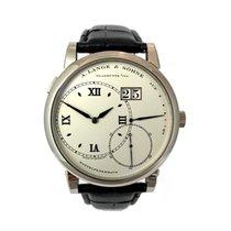 A. Lange & Söhne Grand Lange 1 White gold 41,9mm Silver Roman numerals