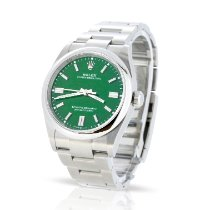 Rolex Oyster Perpetual 36 Steel 36mm Green No numerals United Kingdom, London