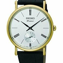 Seiko Premier Steel 38mm Silver Roman numerals United States of America, New Jersey, Somerset