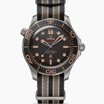 歐米茄 Seamaster Diver 300 M 鈦 42mm 棕色 無數字 香港, Central