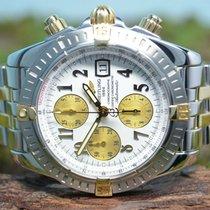 Breitling Chronomat Evolution Acero 44mm Blanco