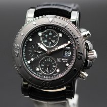 Montblanc Sport Steel 44mm Black No numerals United States of America, New Jersey, Long Branch