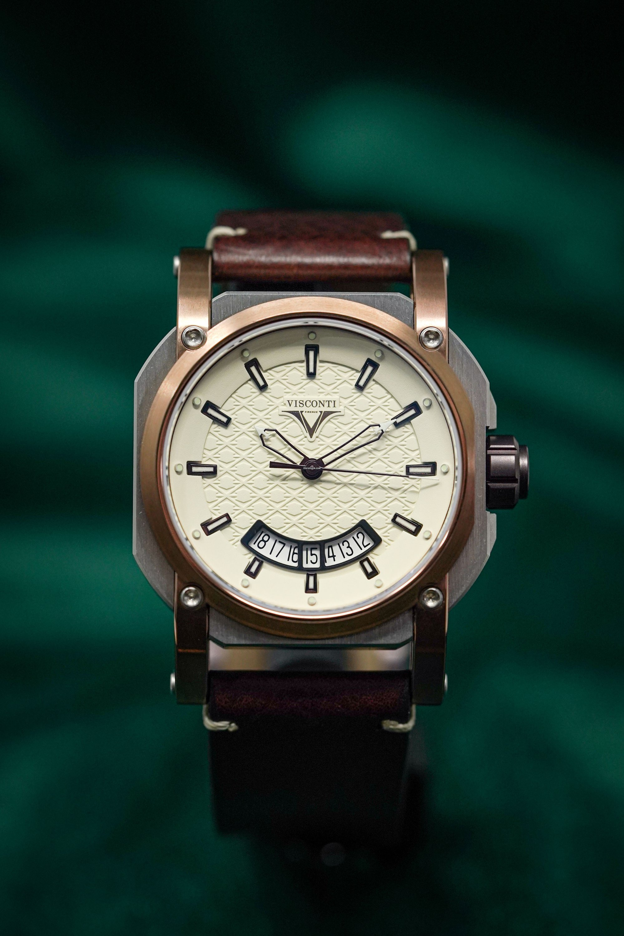 Visconti Men's Automatic Watch Up to Date Image 12 Clip