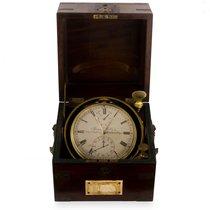 Marine Chronometer Muito bom 122mm Corda manual