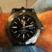 Breitling Avenger Blackbird pre-owned 48mm Black Date Rubber