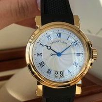 Breguet 5817BA/12/9V8 Yellow gold Marine 39mm pre-owned