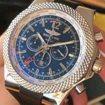 Breitling Bentley GMT Acero 49mm Azul Sin cifras