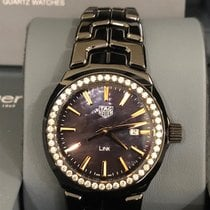 TAG Heuer Ceramic Quartz Mother of pearl new Link Lady