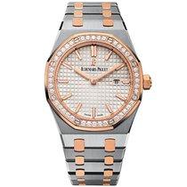 Audemars Piguet Royal Oak Lady nuevo 2020 Cuarzo Reloj con estuche y documentos originales 67651SR.ZZ.1261SR.01