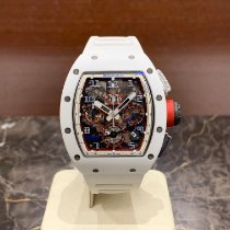 Richard Mille RM 011 Ceramic 50mm Transparent Arabic numerals