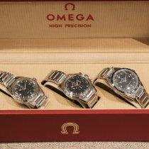 Omega Speedmaster Stahl 38.6mm Schwarz
