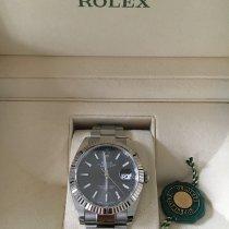 Rolex Datejust II occasion 41mm Gris Chronographe Date Acier