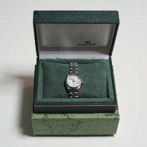 Rolex Oyster Perpetual Lady Date Acier 26mm Blanc Arabes