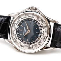 Patek Philippe World Time Platine 37mm Bleu France, Paris
