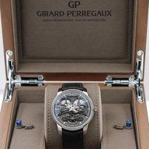 Girard Perregaux Titane Remontage automatique Transparent Sans chiffres 45mm nouveau Bridges