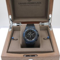 Girard Perregaux Carbon Automatic Black 44mm new Laureato