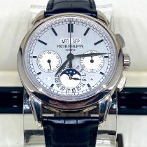 Patek Philippe Perpetual Calendar Chronograph White gold 41mm Silver No numerals United States of America, New York, New York