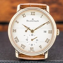 Blancpain Villeret pre-owned 40mm Date Fold clasp