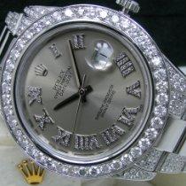 Rolex Datejust II Steel 41mm Grey Roman numerals United States of America, Pennsylvania, HARRISBURG