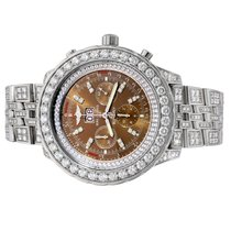 Breitling for Bentley Steel 48mm Brown No numerals United States of America, New York, New York City